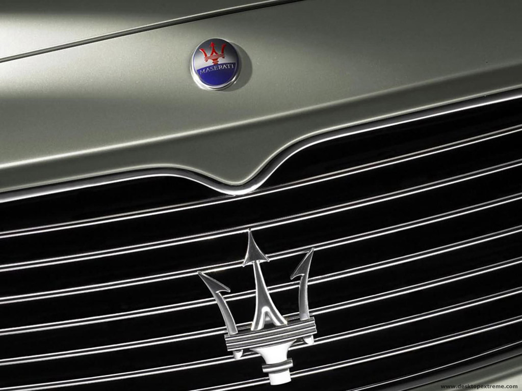 Wallpaper and browse Maserati Logo Wallpaper similar wallpaper in 1024x768