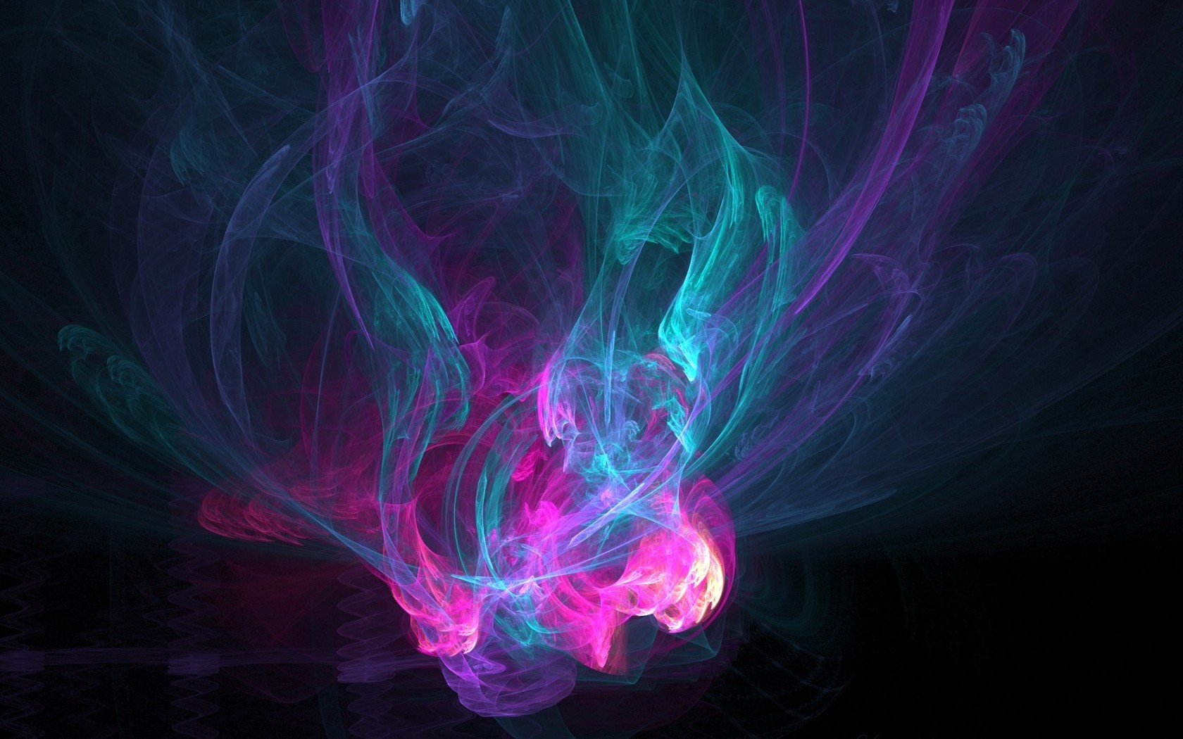 Pastel colored smoke wallpaper 2844 1680x1050
