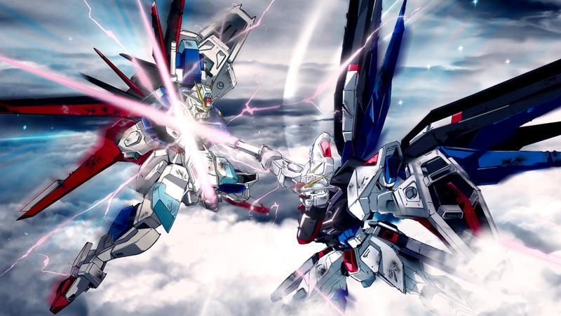 gundam robots fight mecha 1920x1080 wallpaper Anime Gundam Seed HD 800x450