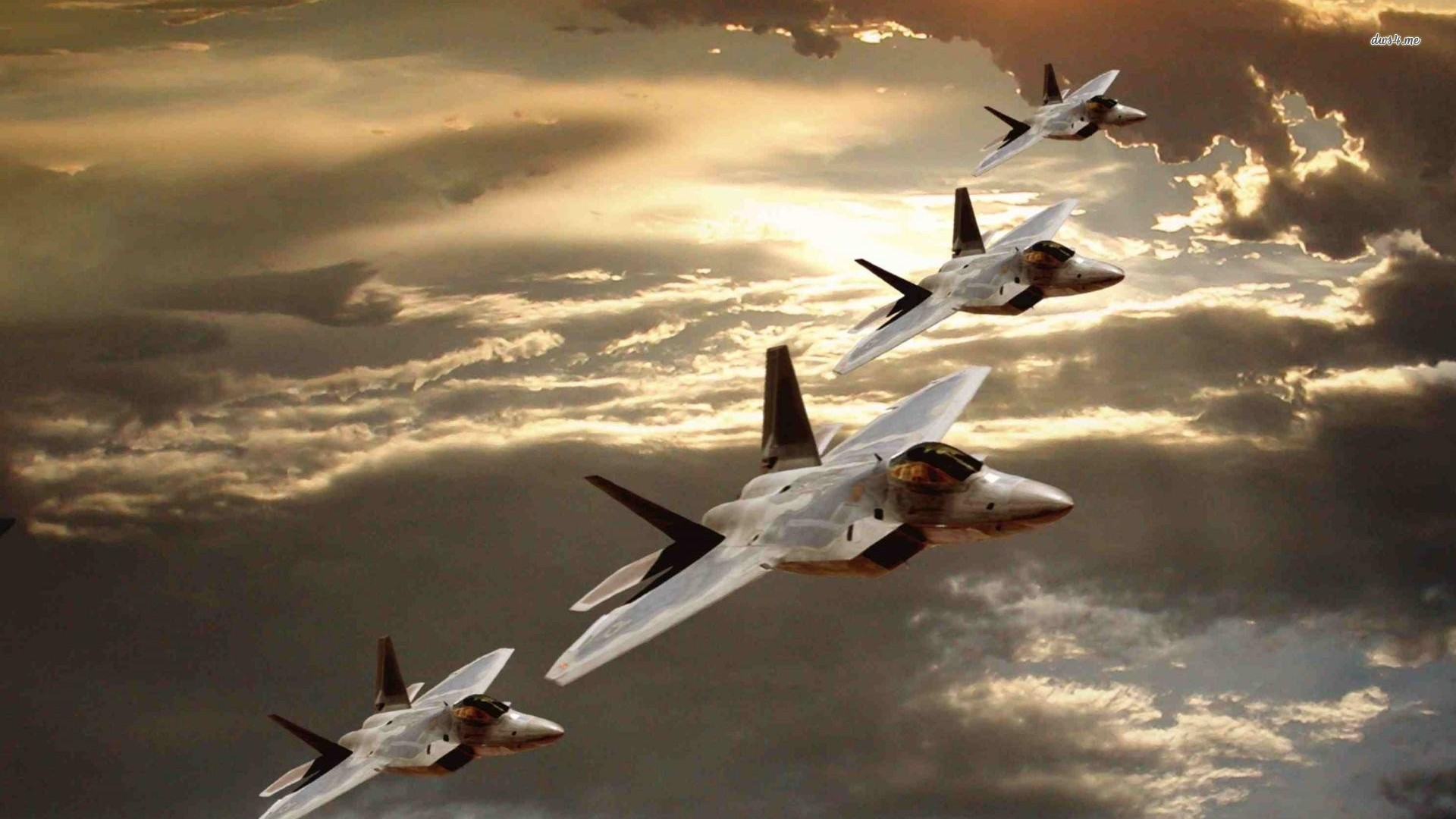 Lockheed Martin F22 Raptors HD wallpapers 1920x1080