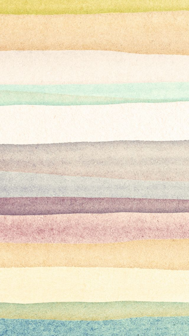 iPhone 5 wallpaper   watercolor stripes pattern Iphone Wallpapers 640x1136