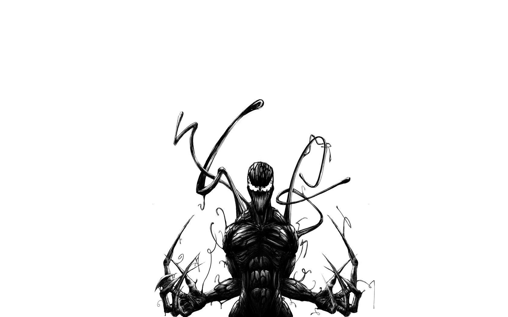 spiderman as venom Wallpaper Background 18883 1680x1050