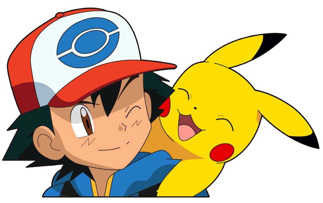 Ash y pikachu by Mary147 1129x708