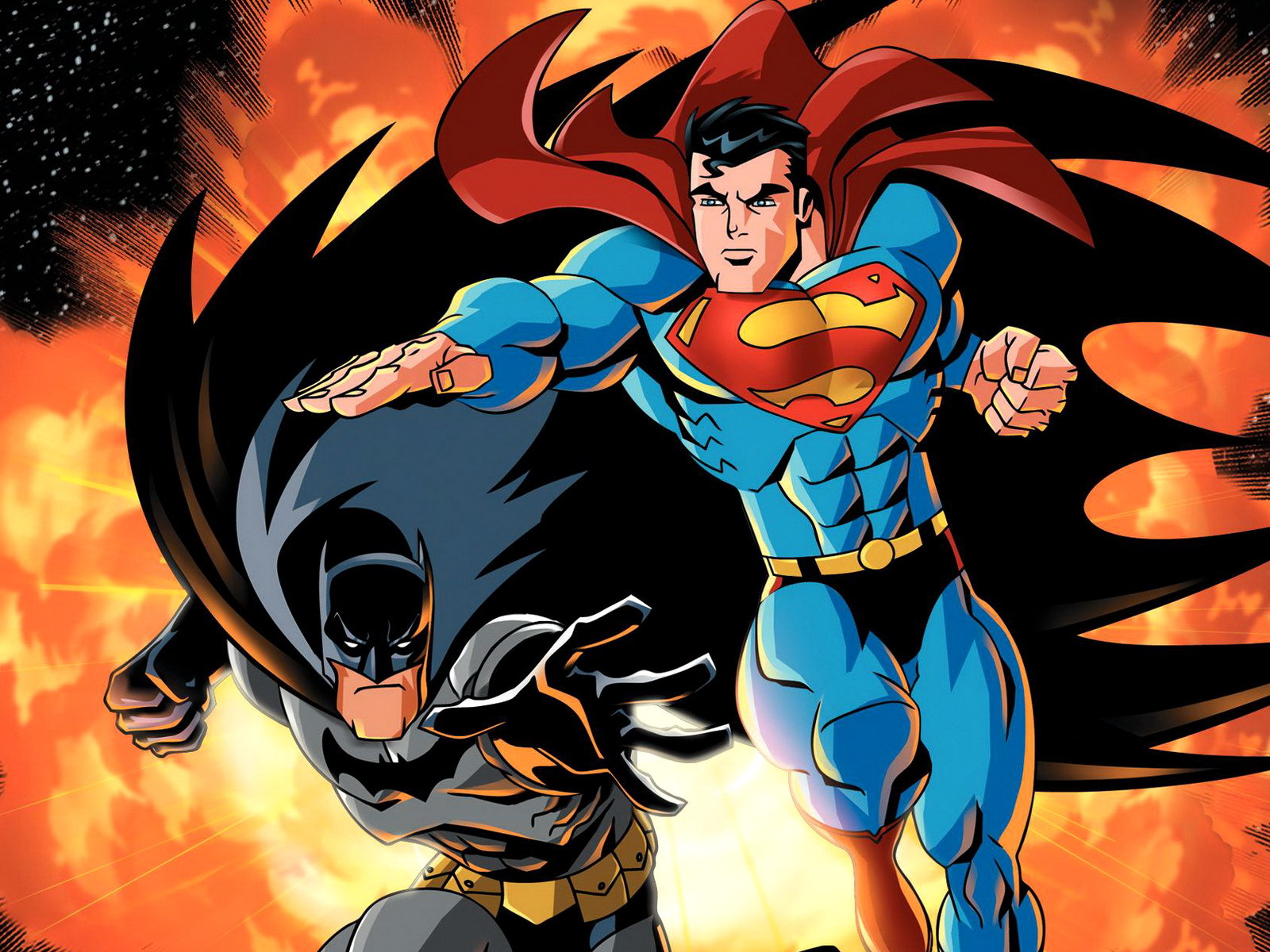 Superman and batman wallpapers and images   wallpapers pictures 1600x1200