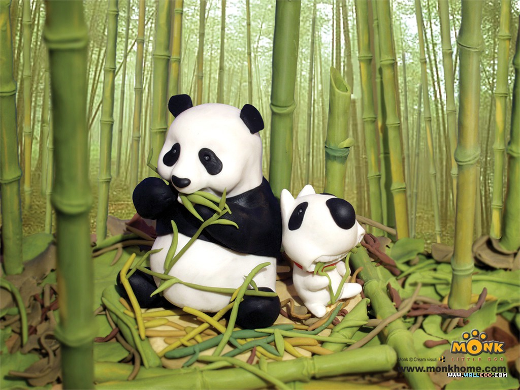 48 Animated Panda Wallpaper On Wallpapersafari