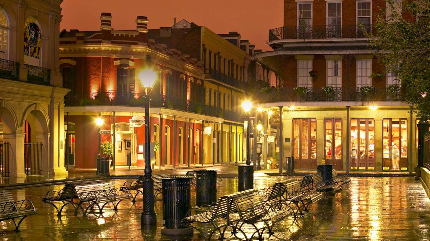 French Quarter WallpaperFool 1366x768