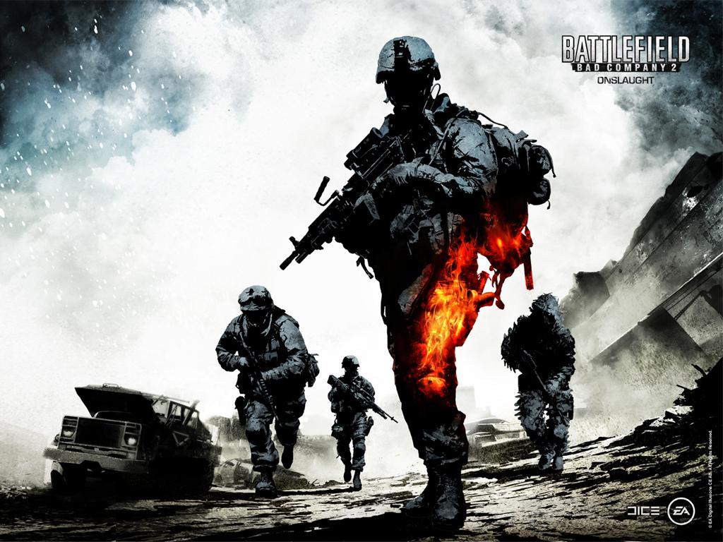 Cyber Game Wallpaper Battlefield Bad Company 2 HD Wallpaper 1024x768