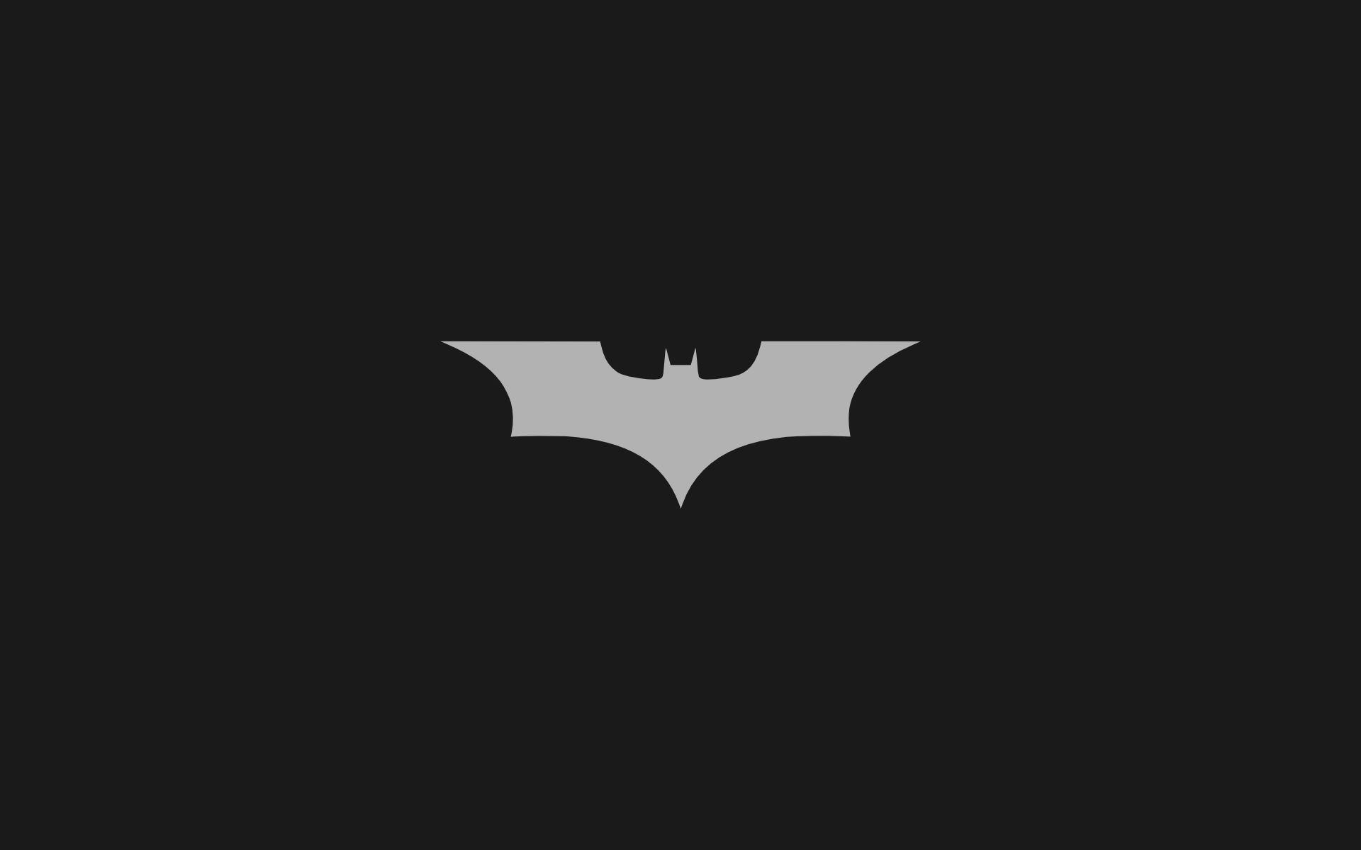 Minimalistic Batman Logo wallpapers Minimalistic Batman Logo stock 1920x1200