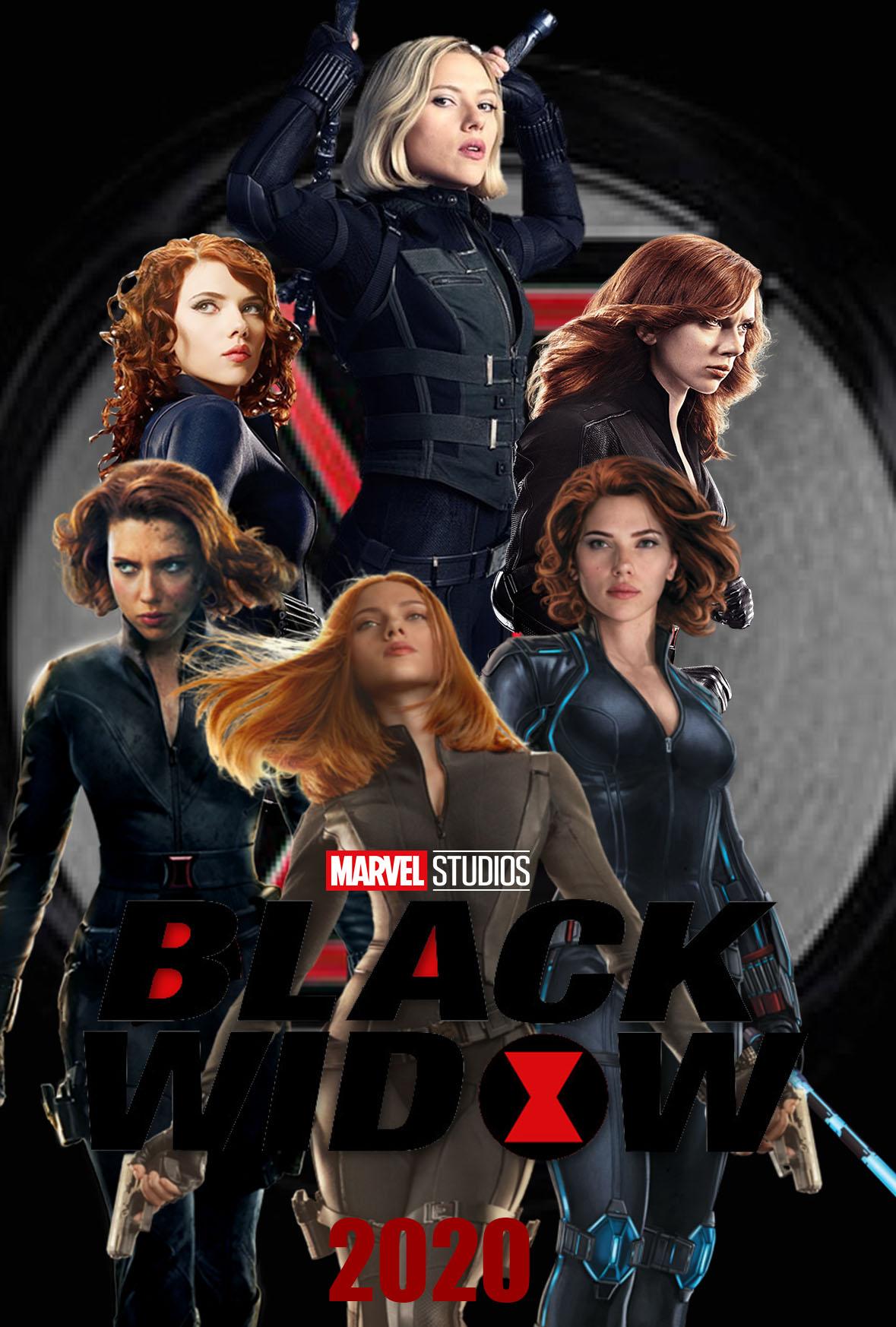 Black Widow 2020 Poster concept by The Dark Mamba 995 1179x1746