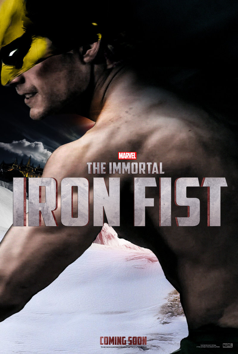 The Immortal Iron Fist Teaser Poster 2 by Enoch16 800x1190
