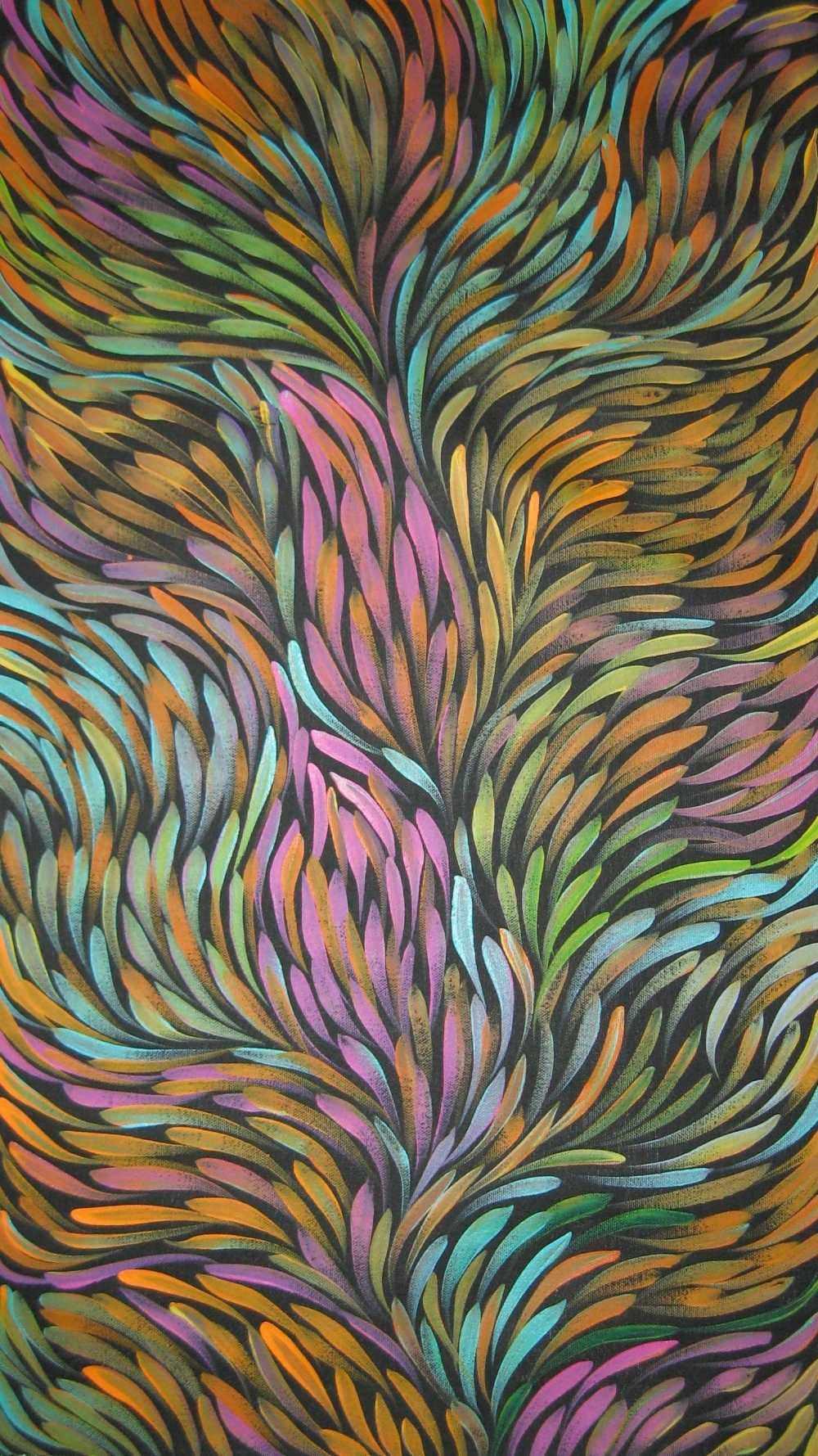 art australian aboriginal indigenous   Gloria Petyarre 1000x1779