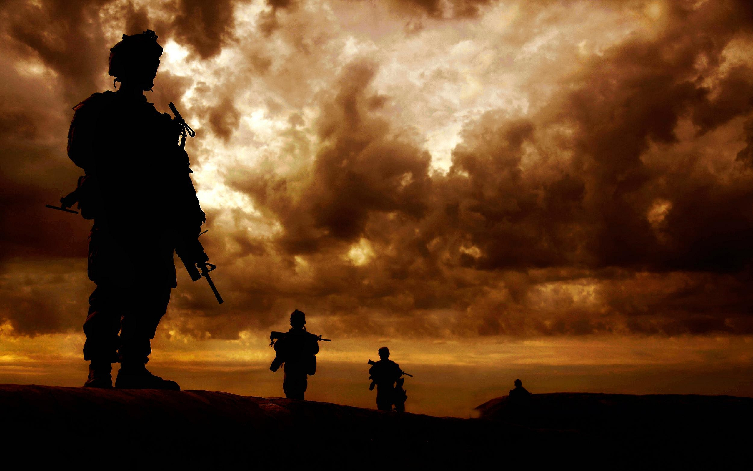 American Soldier Wallpaper Military   soldier wallpapers 2560x1600