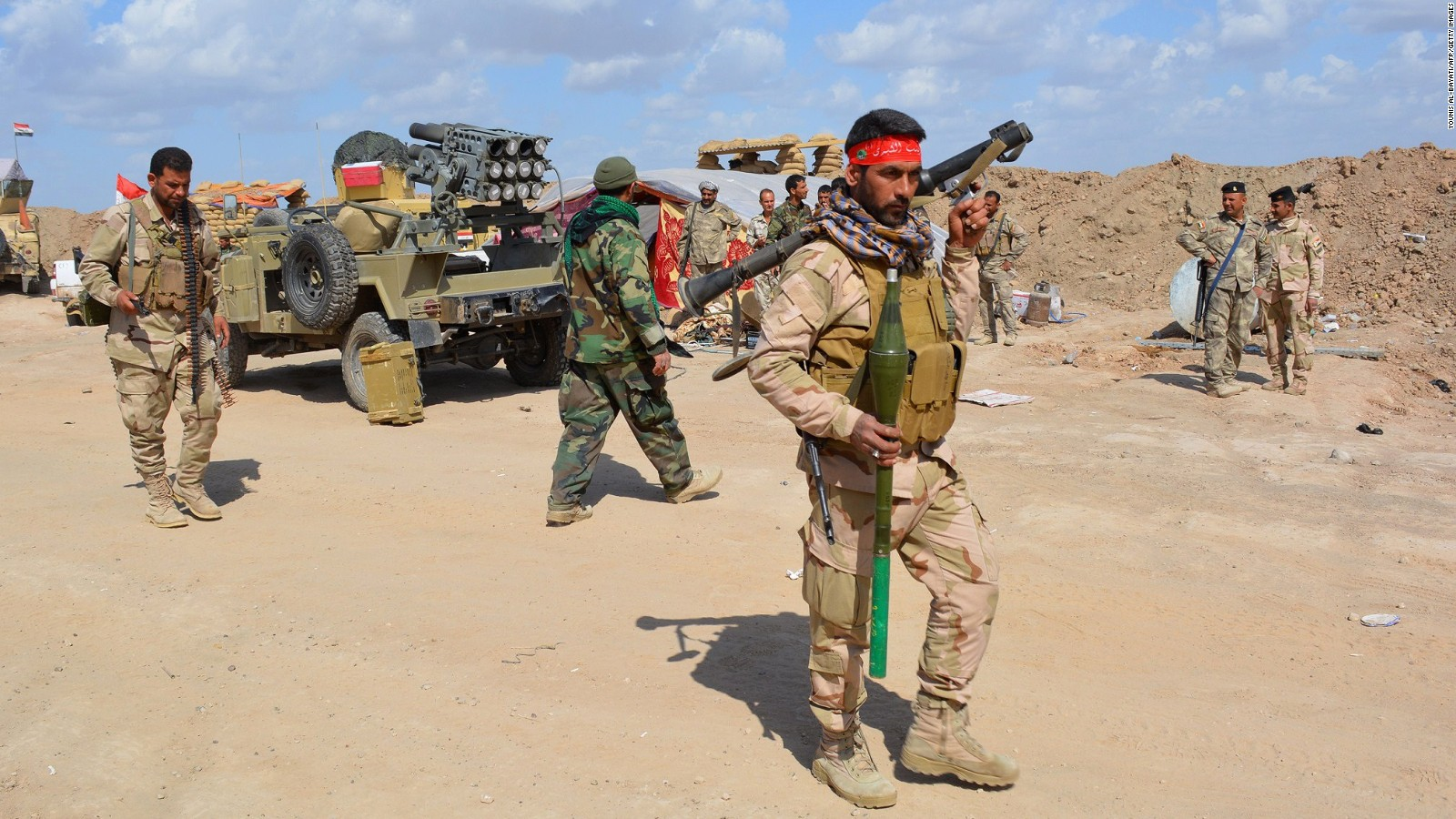 Iraqi forces advance on ISIS held city of Tikrit   CNN 1600x900