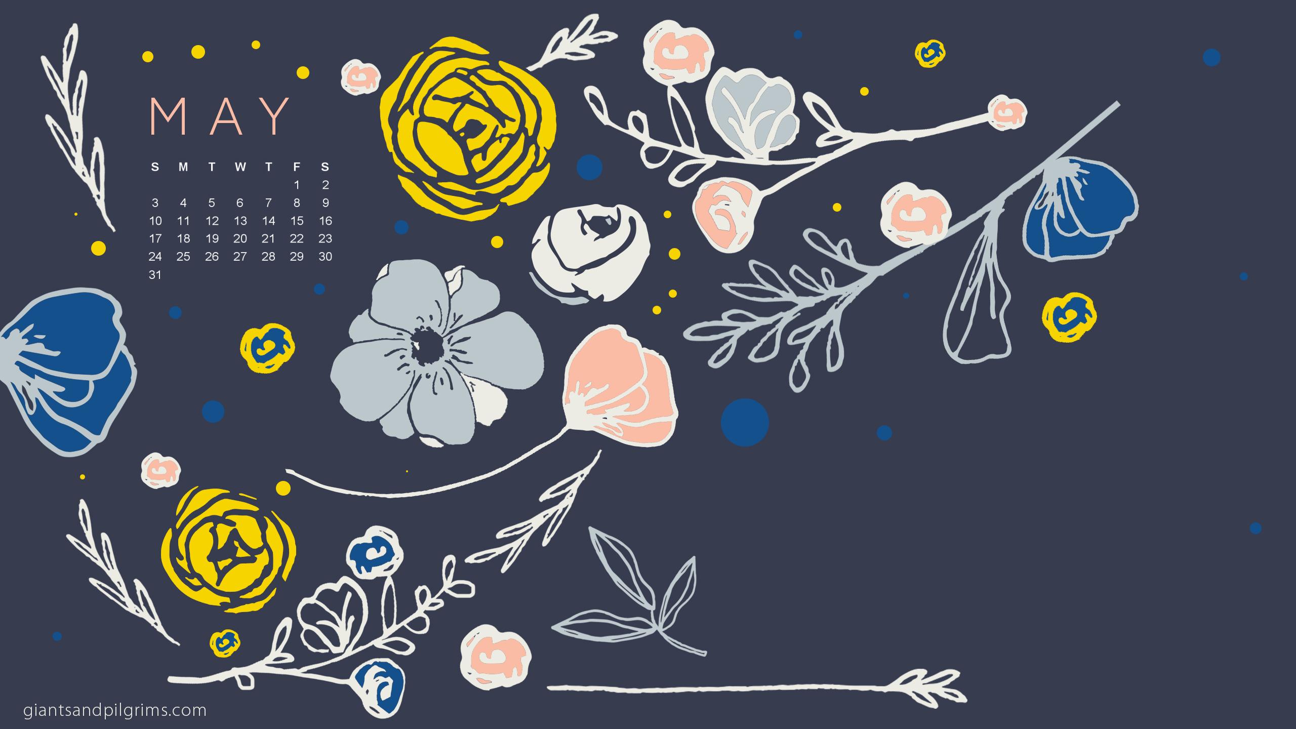 May 2015 Desktop and iPhone Wallpaper Giants Pilgrims 2560x1440
