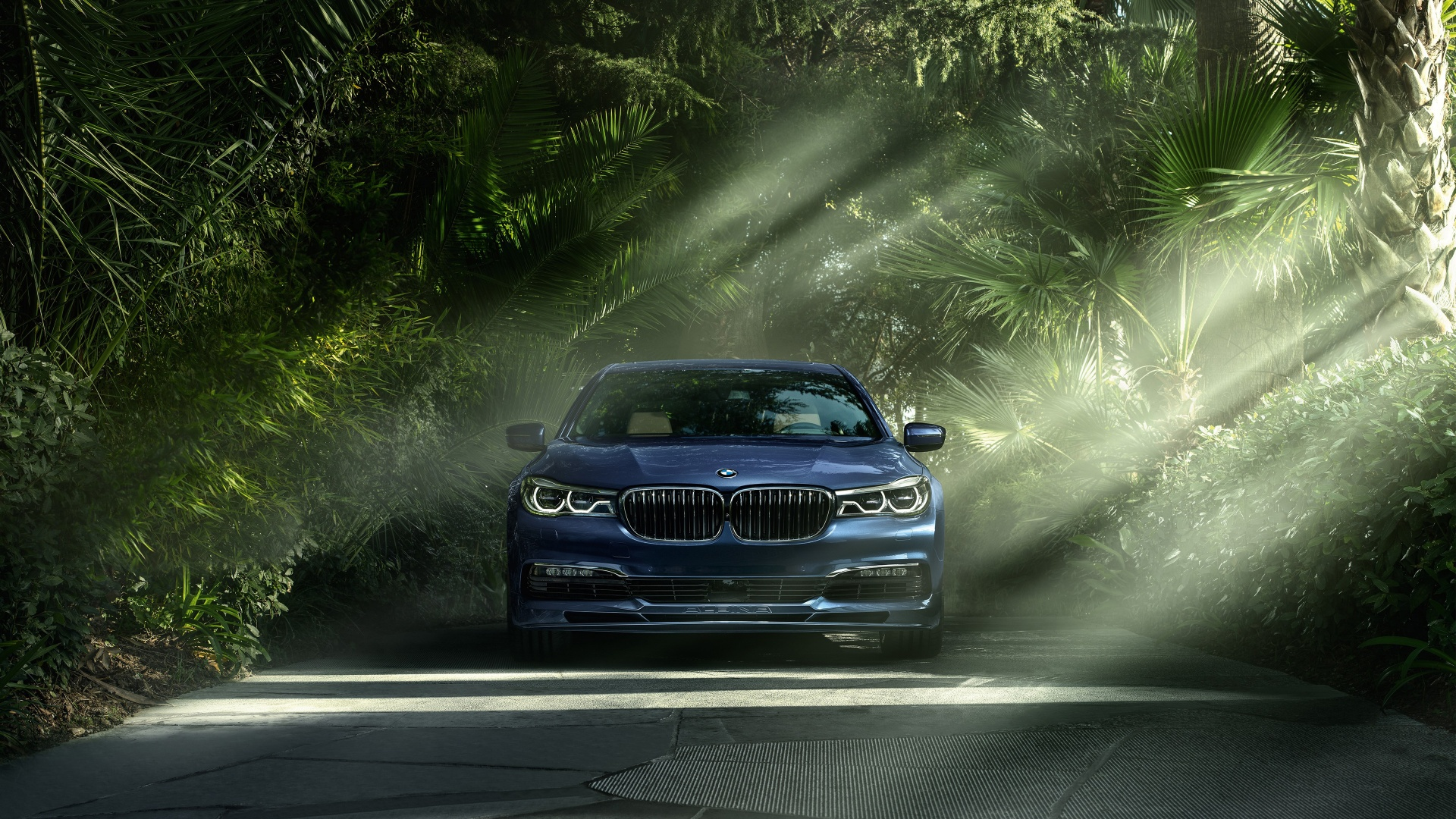 BMW Alpina B7 xDrive 2017 Wallpapers in jpg format for download 1920x1080