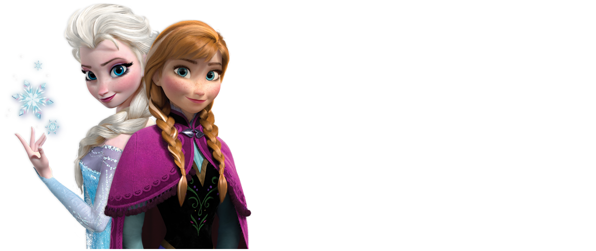 Anna and Elsa with longer background   Frozen Photo 34842649 1208x509