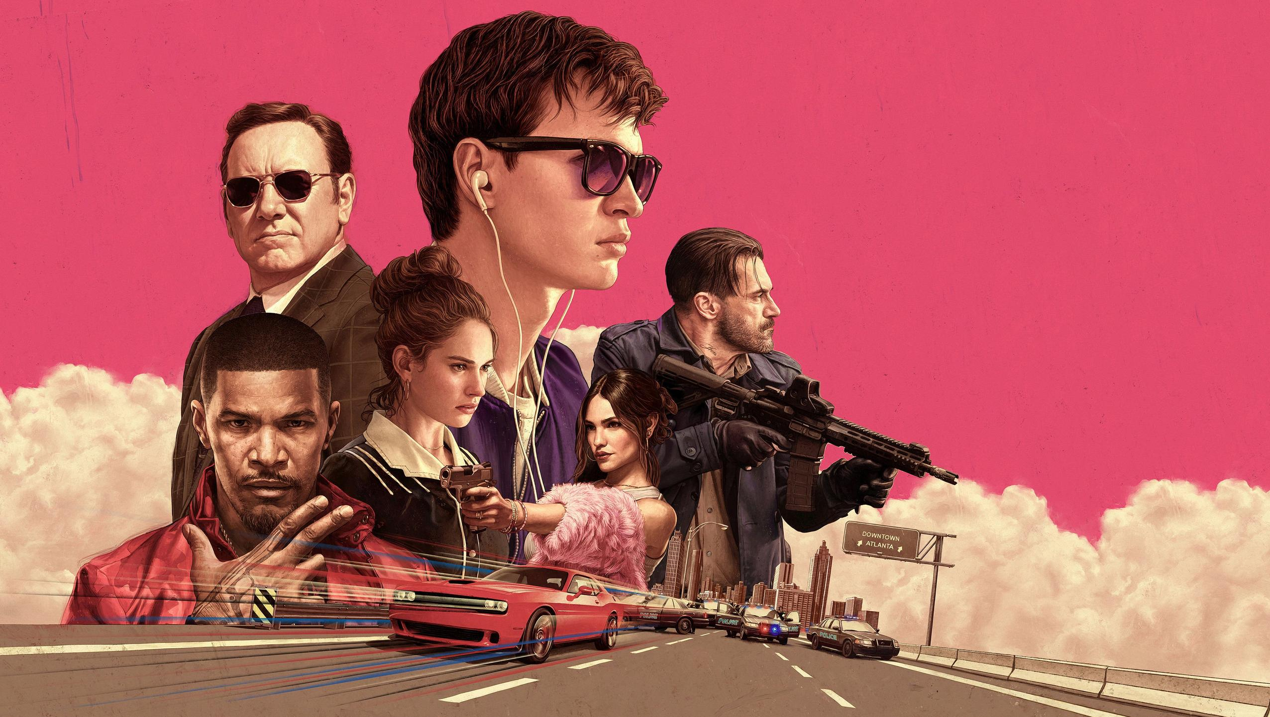 Baby Driver 2017 Desktop Wallpaper Moviemania 2552x1442