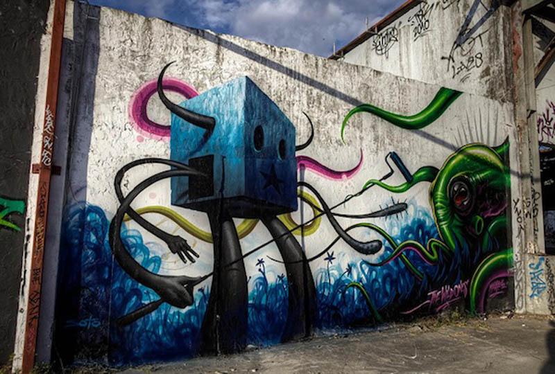Graffiti Murals Wallpaper Unique Graffiti Designs 800x540