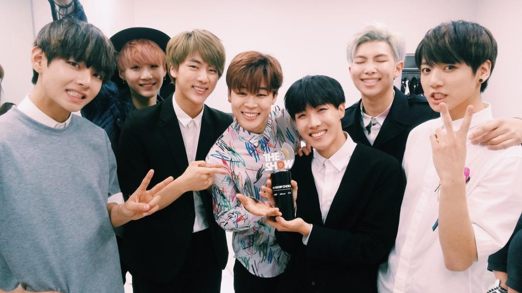 BTS grabs their first win for I NEED U on SBS MTVs The 1024x576