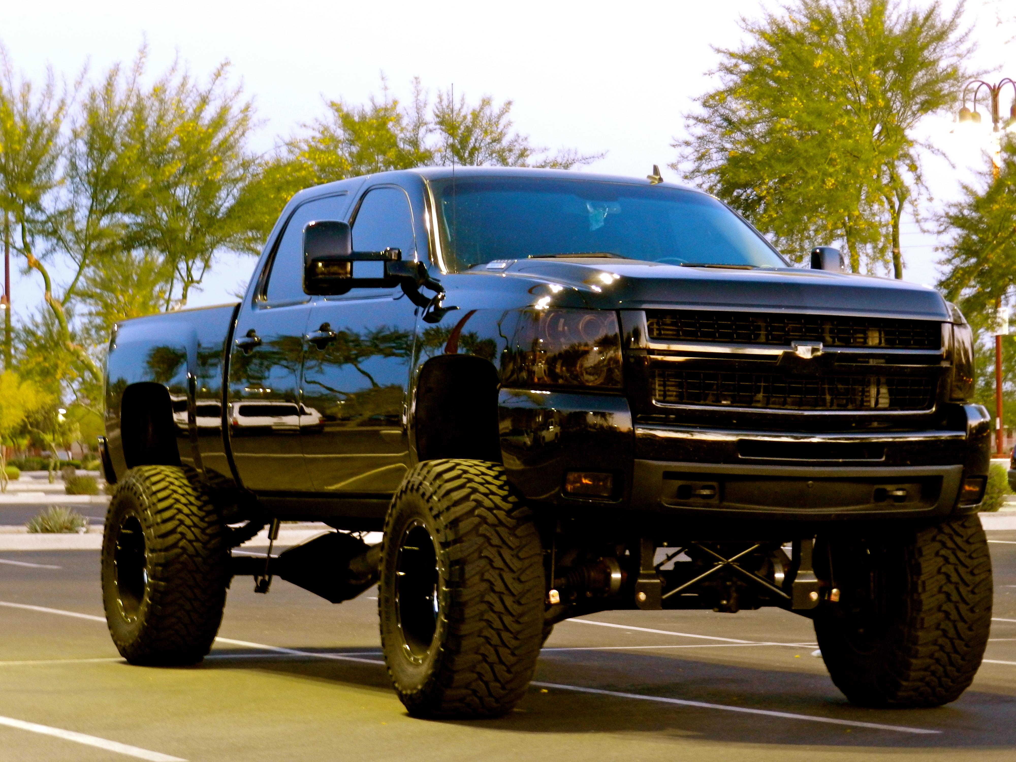 Lifted Chevy Lifted Chevy Trucks Black Dragon 075 2500HD 4000x3000