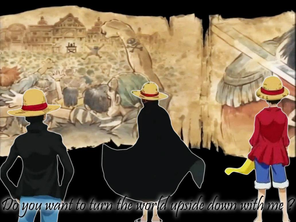 One Piece   Straw Hats Wallpaper by Minouze 1032x774