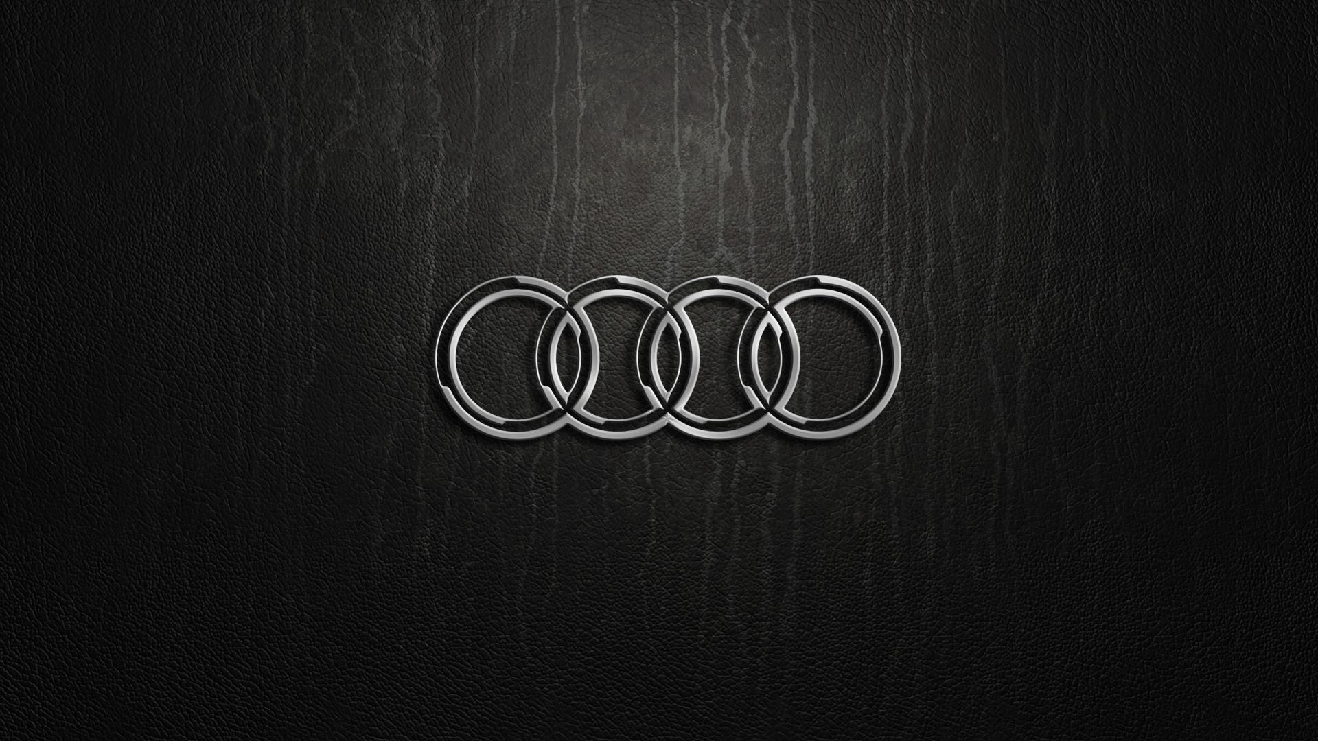 15297 Audi Logo Full HD Wallpaper 19201080 1920x1080