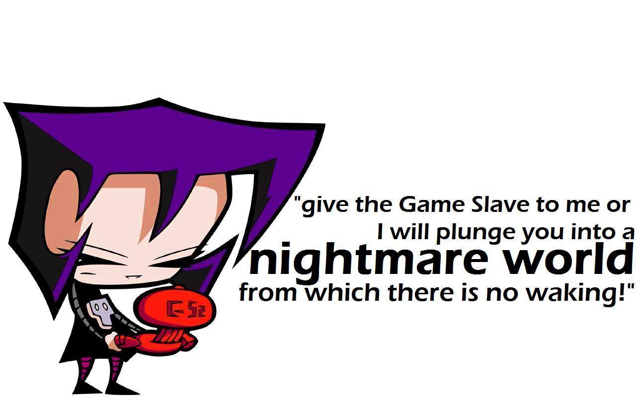 Gazs Nightmare World   Invader Zim Wallpaper 10242476 1280x800