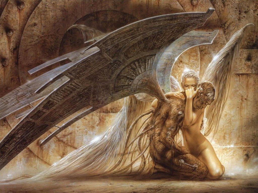 Fallen Angel Background Wallpapers Angel Background 1024x768