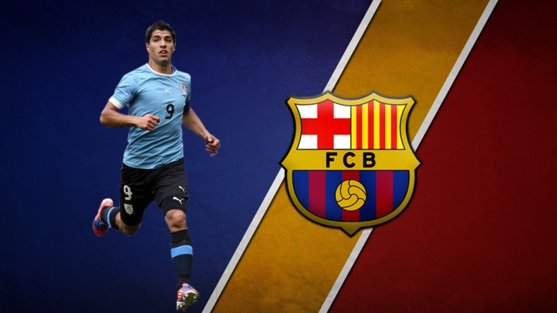 Luis Suarez FC Barcelona player in 2014 2015 footballgatecom 790x444