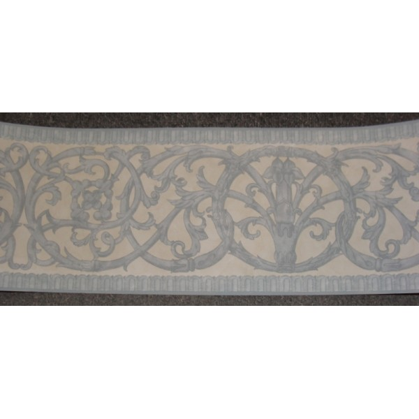 Abstract Novelty Borders Celtic Scroll Traditional Blue Border 600x600