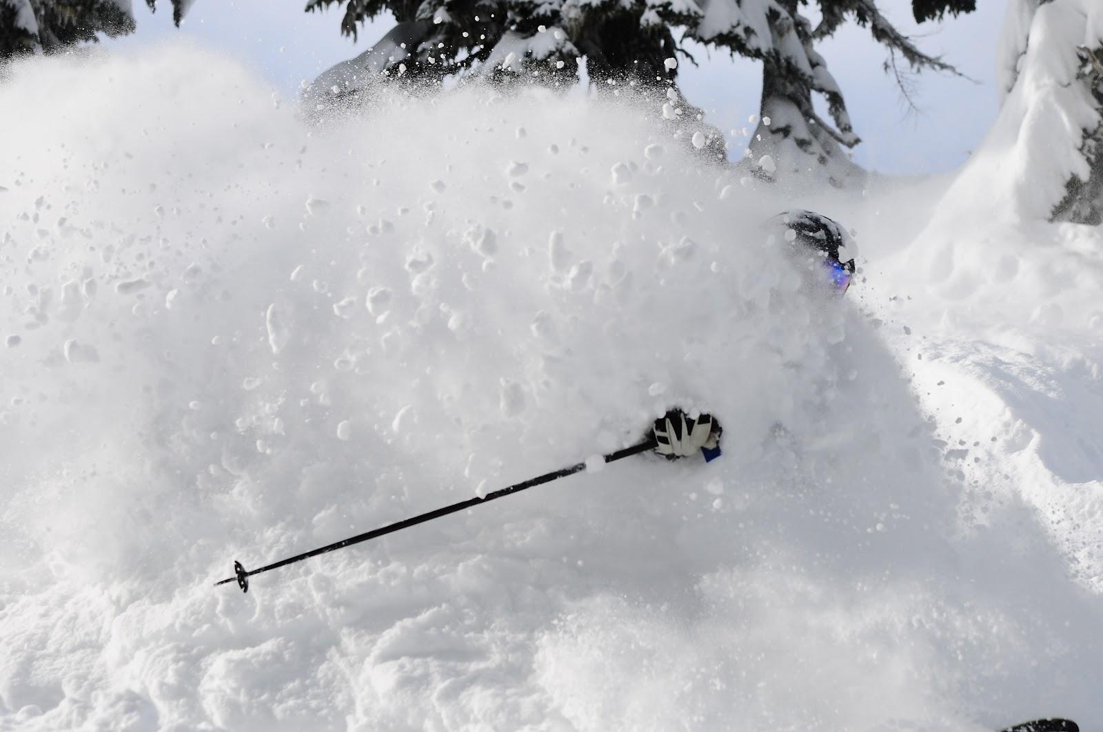 powder skiing wallpaper wallpapersafari