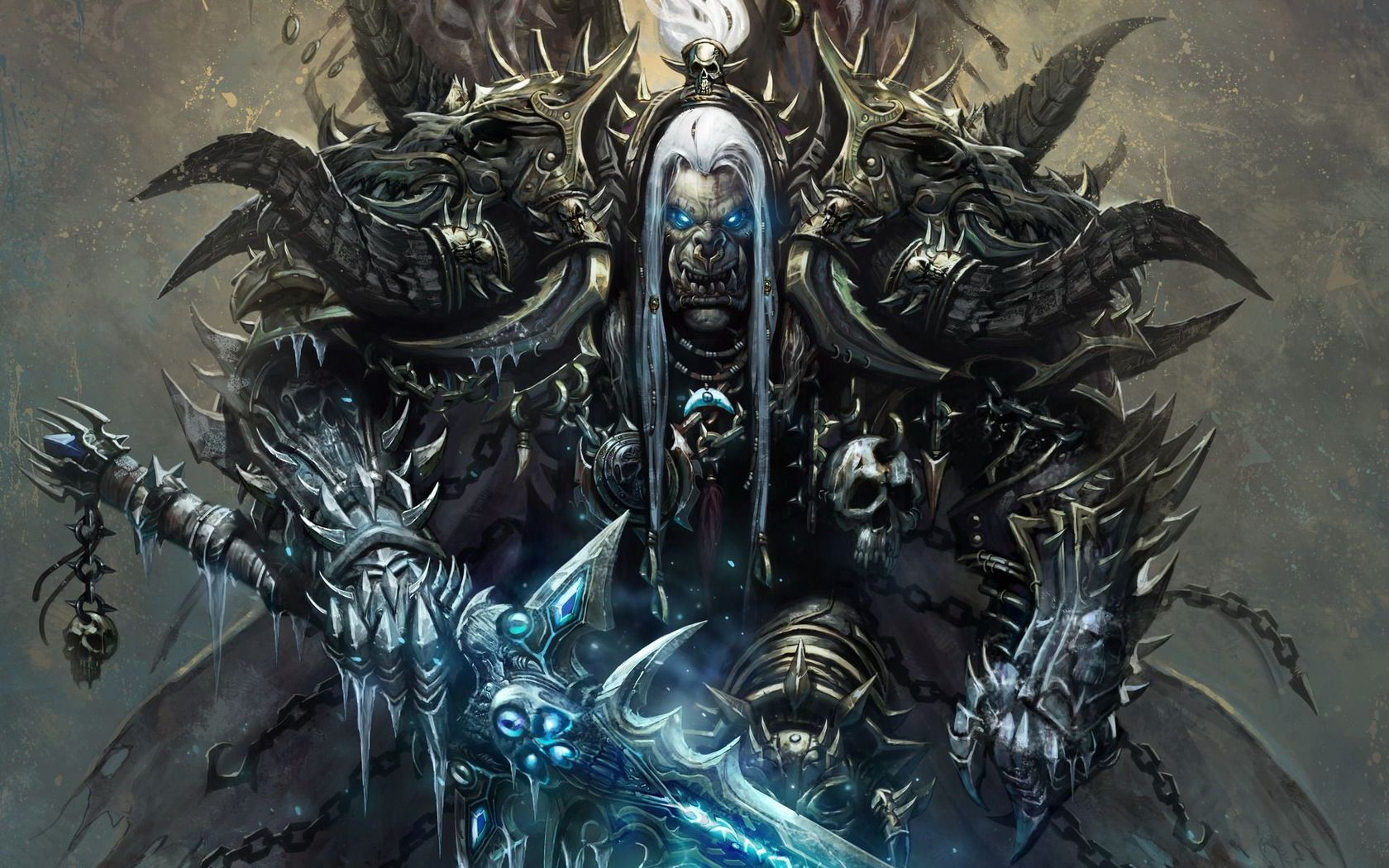 Pics Photos   World Of Warcraft Wallpaper Orc 1680x1050