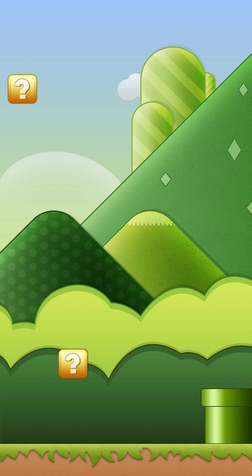 Wallpaper iphone mario bross - Super Mario Bros World Hd Wallpaper For Iphone 6 Hdwallpapers Net