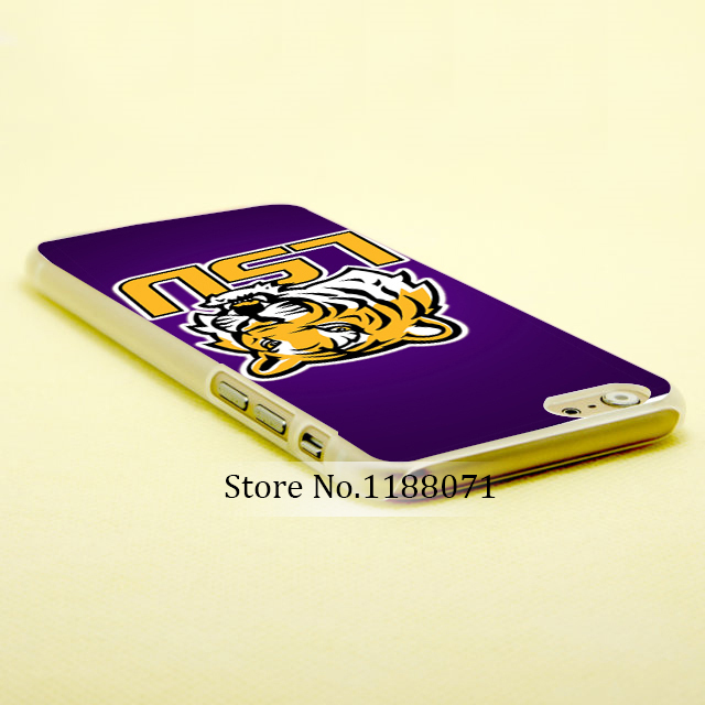 lsu tigers Style For iPhone 6 6s 6g iphone 6 6 plus Transparent Case 640x640