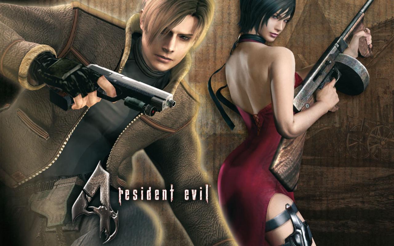 Free Download Resident Evil 4 Leon Kennedy Ada Wong Wallpaper