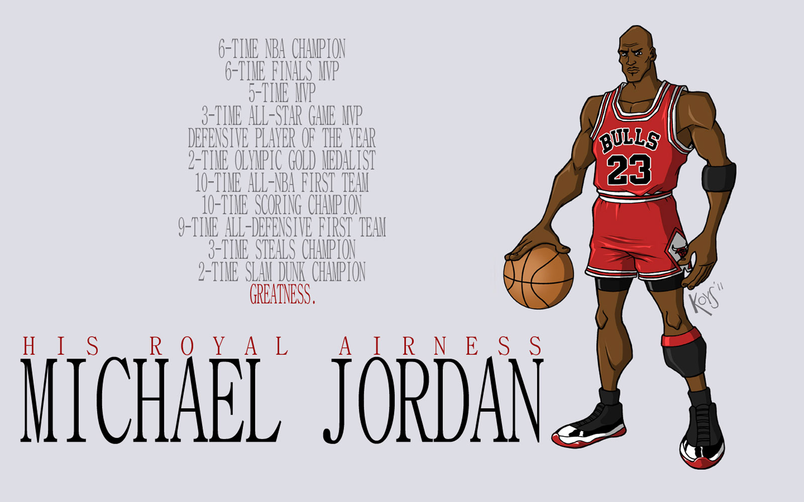 NBA Cartoon Wallpaper