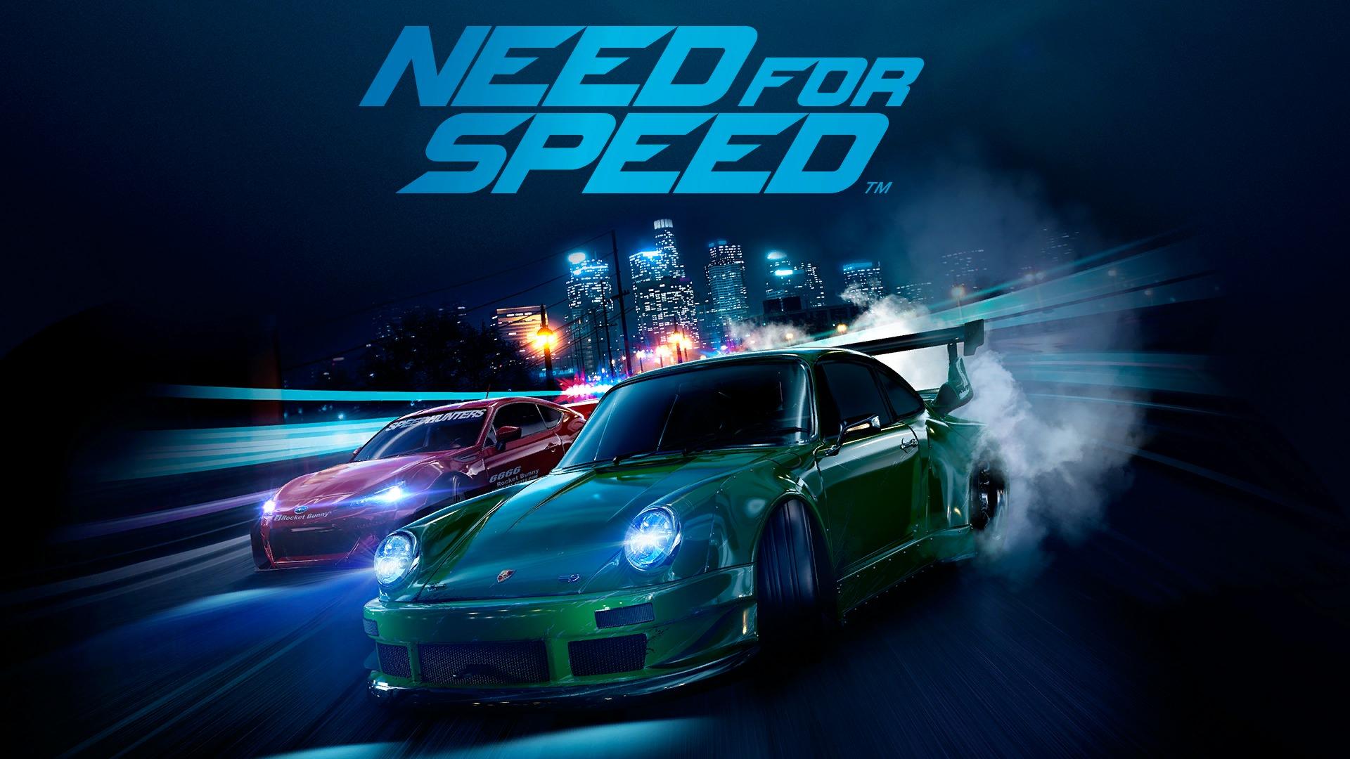 Free Download Need For Speed Green Porsche Race Desktop Wallpaper