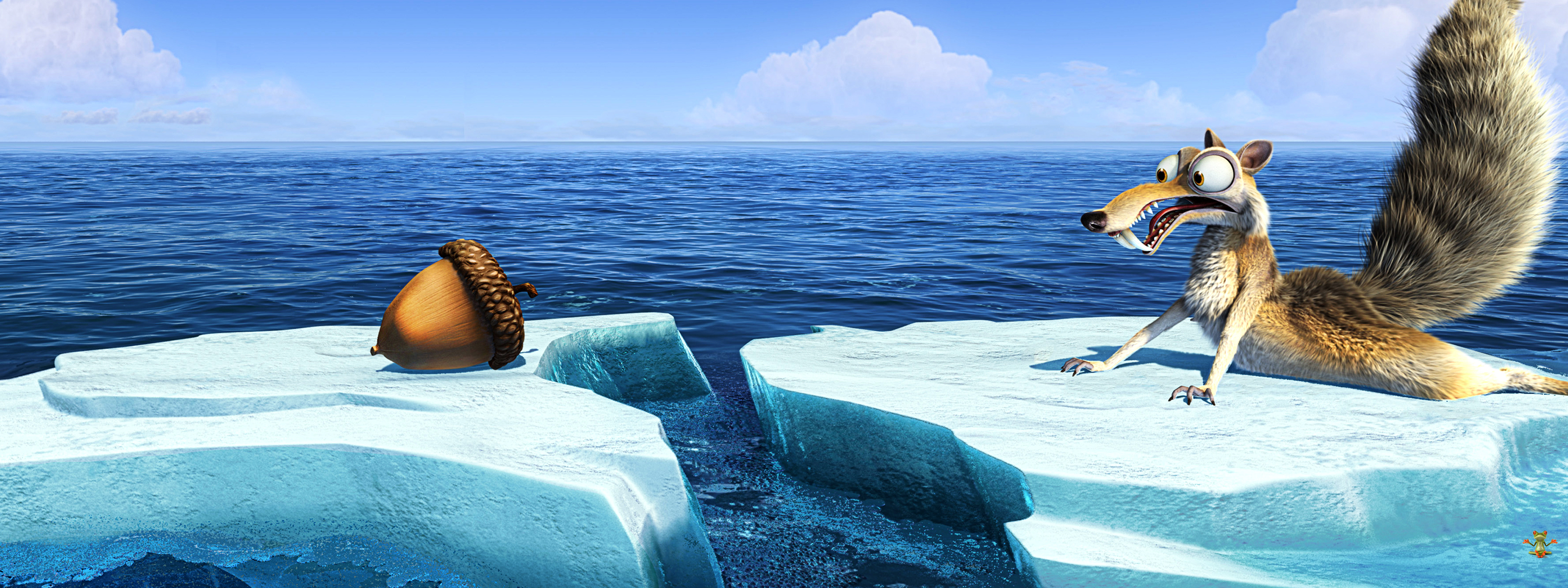 Panoramic Wallpapers Ice Age Continental Drift panoramic wallpaper 3200x1200