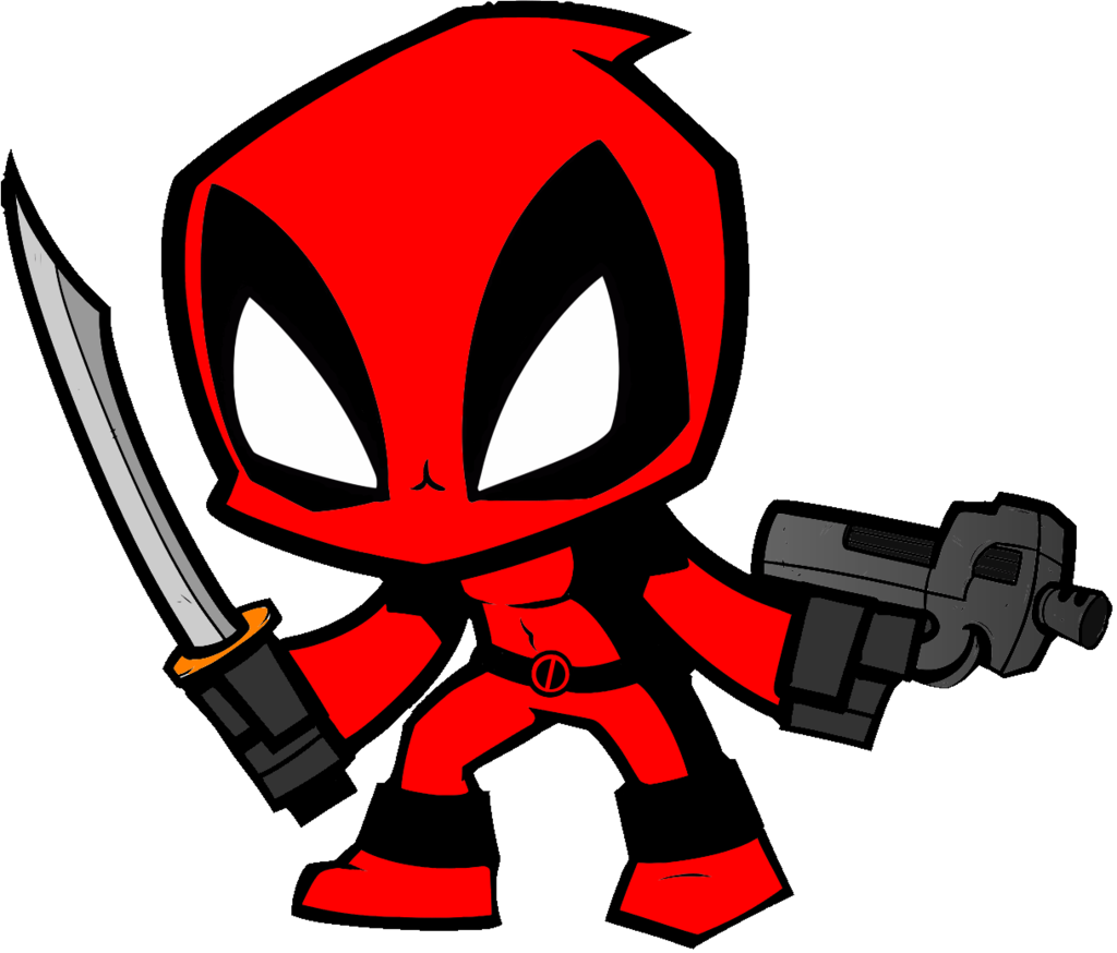 Free Download Deadpool Chibi Deadpool Chibi 1024x874 For Your