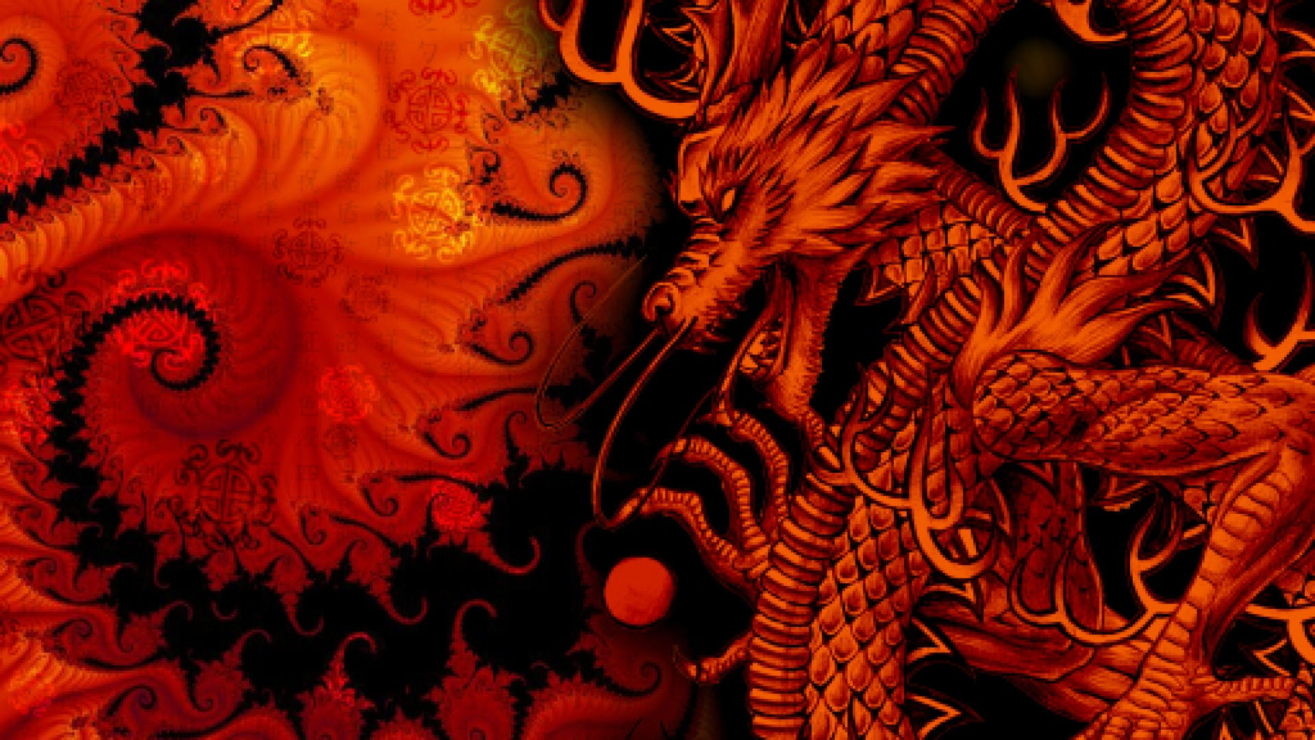 Dragon HD Wallpapers 1080p  WallpaperSafari