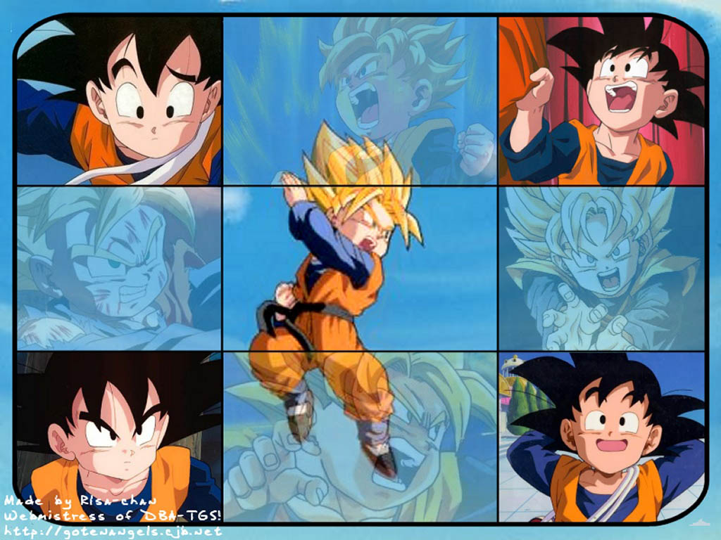 Download DBZ Kid Trunks and Goten wallpaper [1024x768] 74 Goten 1024x768