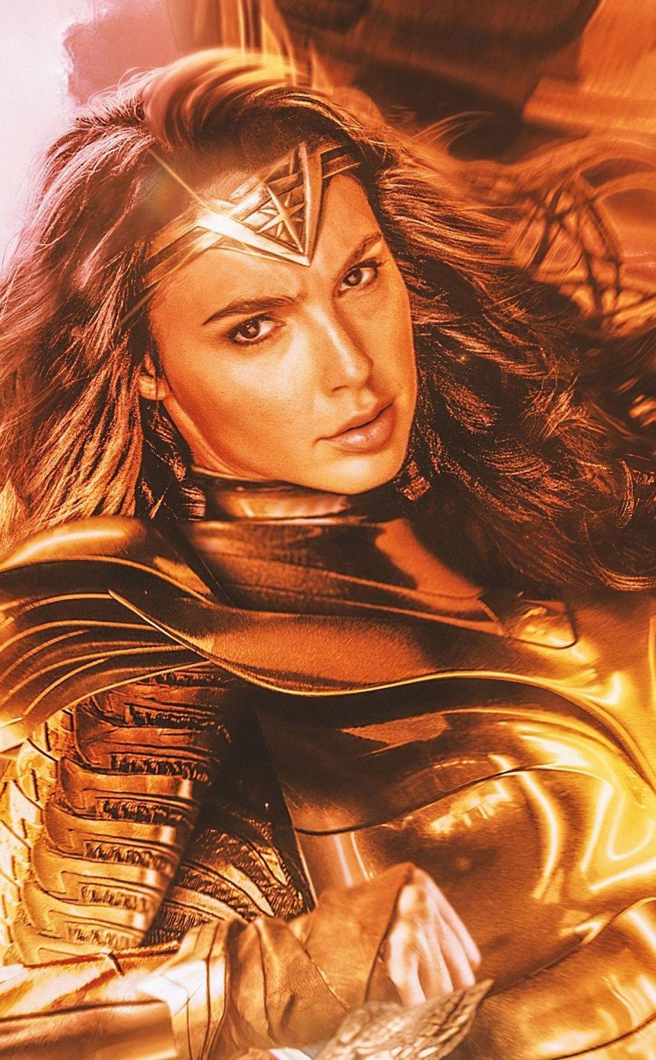 Free Download 950x1534 Wonder Woman 1984 Golden Wings 2020 Movie