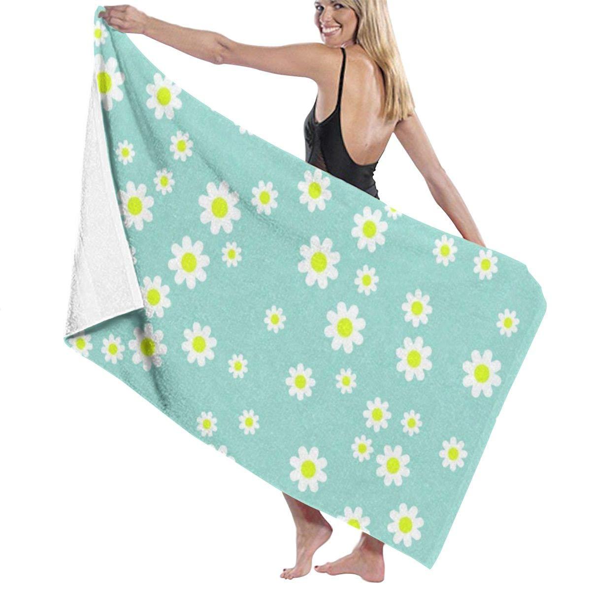 Amazoncom Ri jist Beach Bath Towels Small Chrysanthemum Green 1200x1200