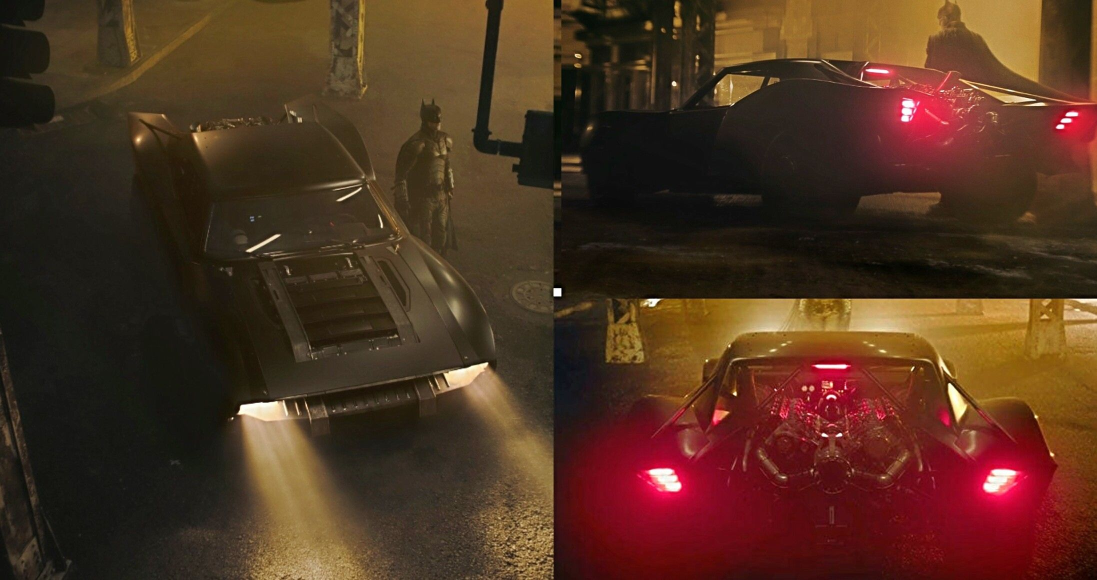 The Batman 2021 Batmobile thebatman batmobile 2194x1160