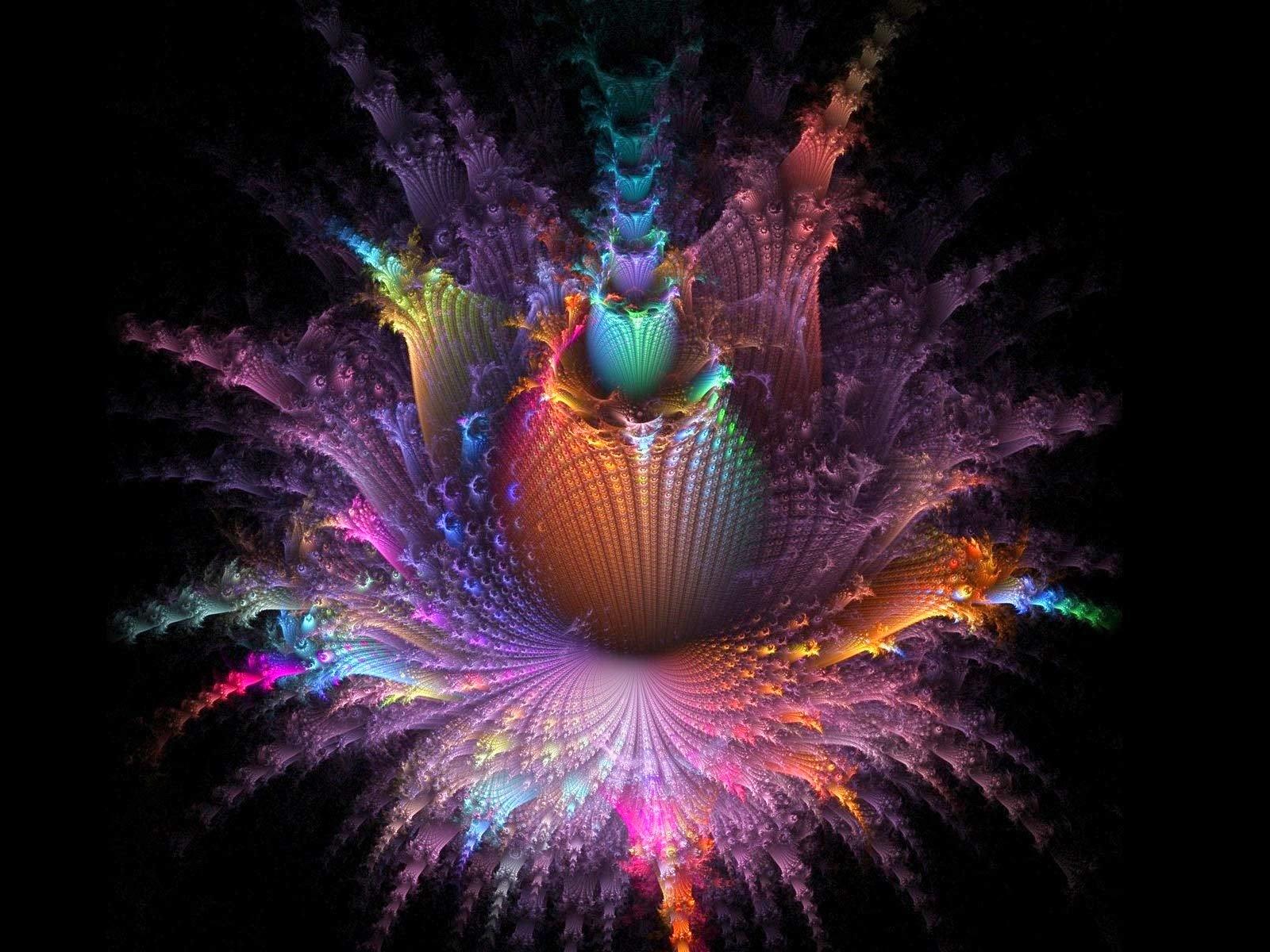 Fractal Art Colorful Desktop Wallpaper Uploaded by mayur 1600x1200