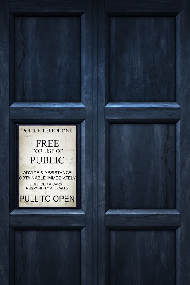 Doctor Who Tardis iPhone Wallpaper Phone Wallpapers Backgrounds 640x960
