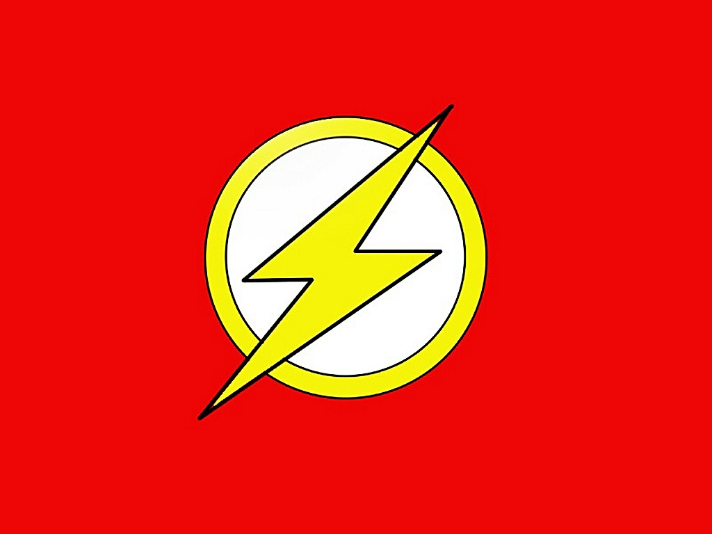 Flash Superhero Logo HD Walls Find Wallpapers 1024x768
