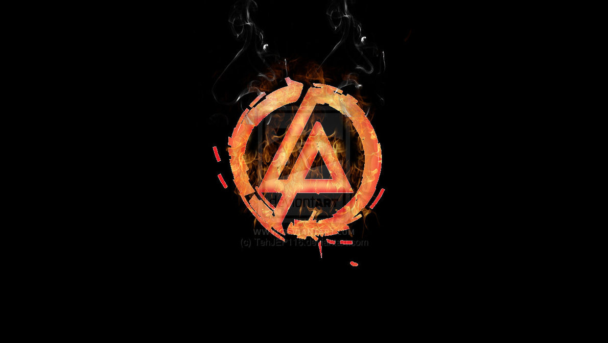 Linkin Park Burning Logo by TehJEP116 1190x672