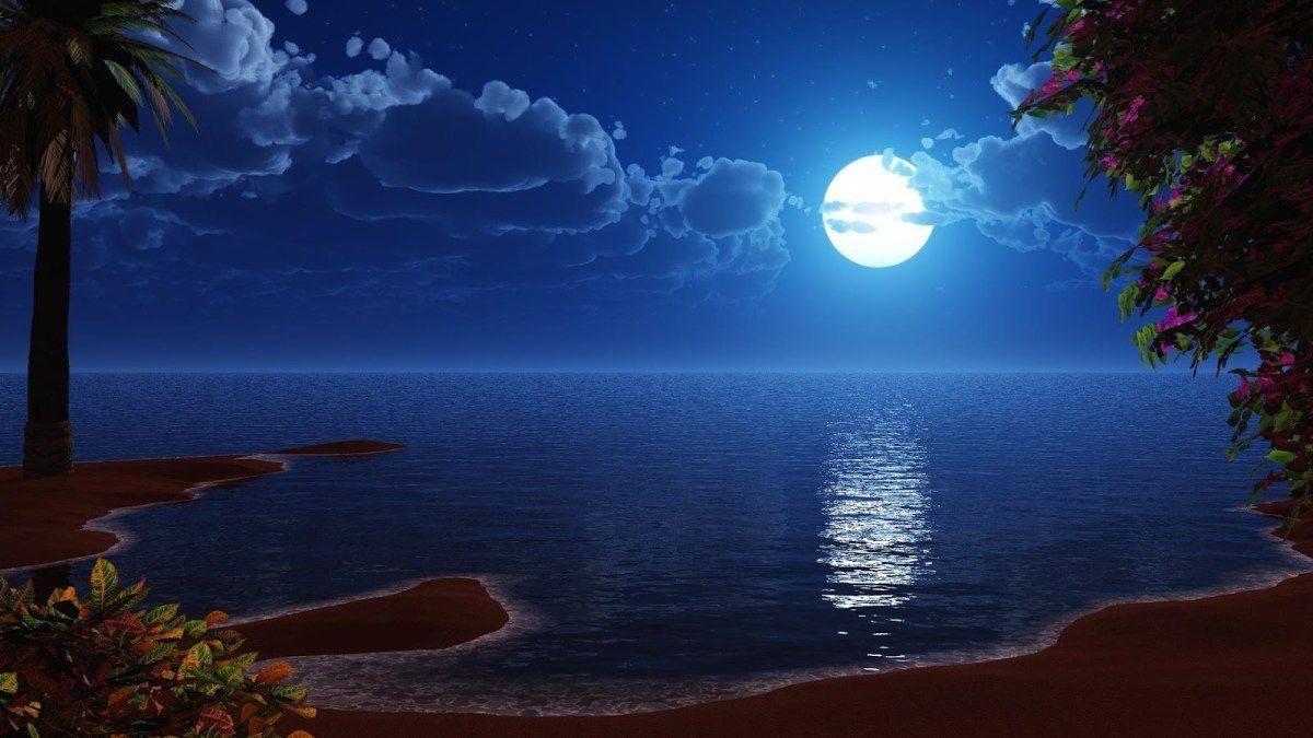 4K Ultra HD Moon Wallpapers full moon hd wallpapers Ocean 1200x675