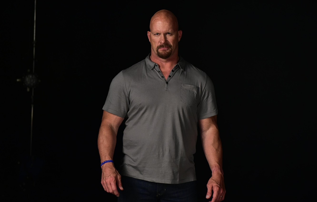 Wallpaper look bald actor wrestler WWE Steve Austin Steve 1332x850